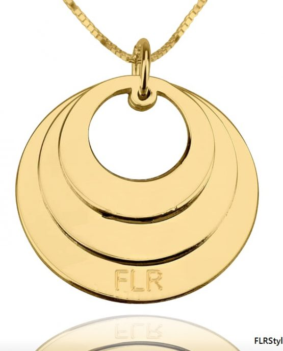 FLR DOMINION GOLD NECKLACE