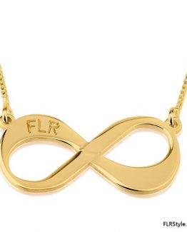 GOLD FLR FOREVER NECKLACE