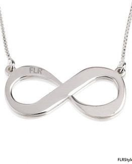 Silver FLR FOREVER NECKLACE