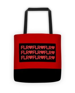 FLR Timeless Tote Bag (Red)