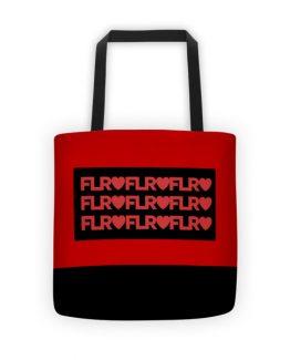 FLR Timeless Tote Bag (Red)