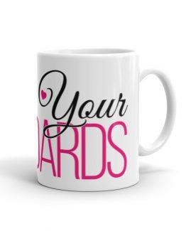 Raise Your Standards Pink/Black Mug