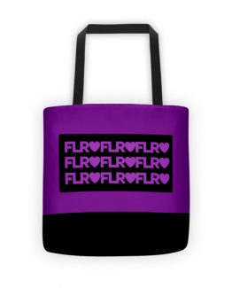 FLR Timeless Tote bag (Purple)