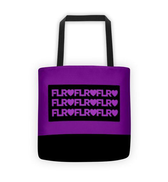 FLR Timeless Tote bag (Purple)