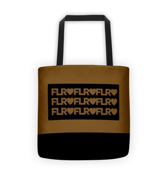 FLR Timeless Tote Bag (Brown)