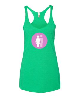 FLR PRIDE Women's Racer Back Tank Top