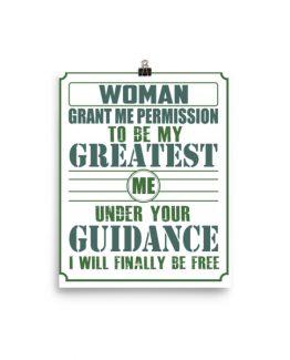 Grant Me Permission FLR Poster