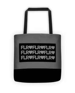 FLR Timeless Tote bag (Silver)