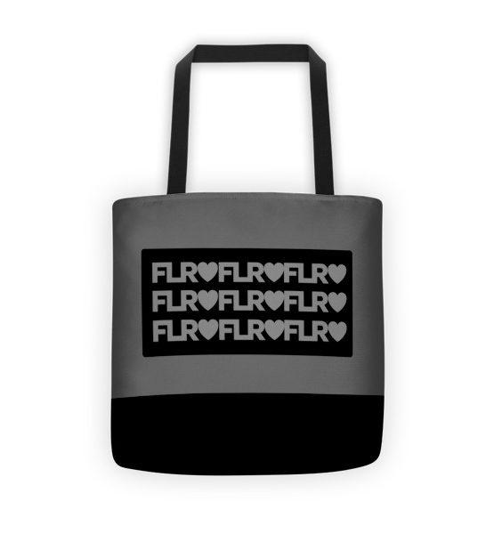 FLR Timeless Tote bag (Silver)