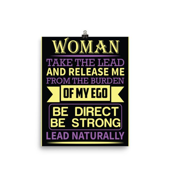 LEAD NATURALLY Poster