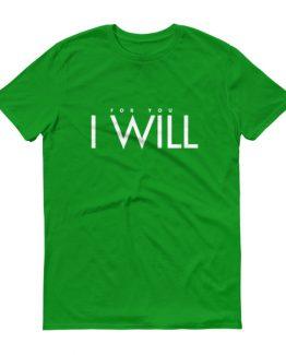 """I Will"" Men's T-Shirt"